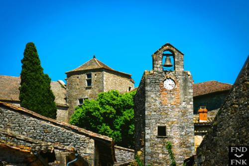 Photographie de Franck Fernandez - Bruniquel village visite critique