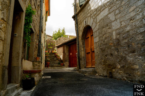 Photographie village Lagrasse. Critique de visite