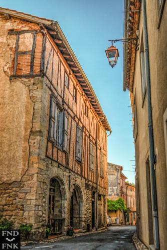 Photographie village patrimoine architecture lautrec
